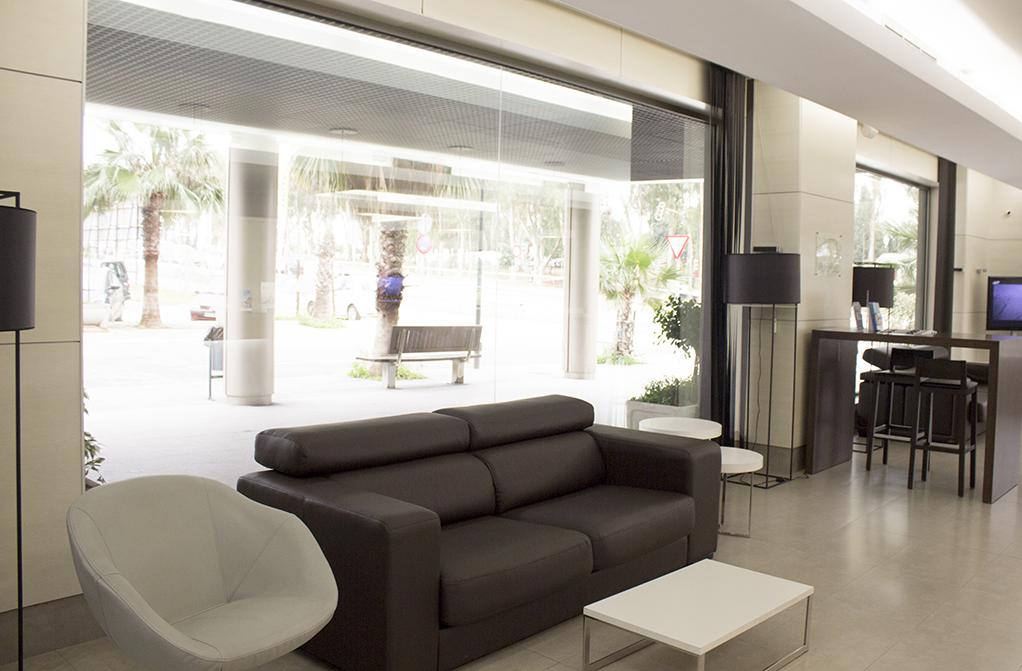 Entrada Hotel Mercure Algeciras